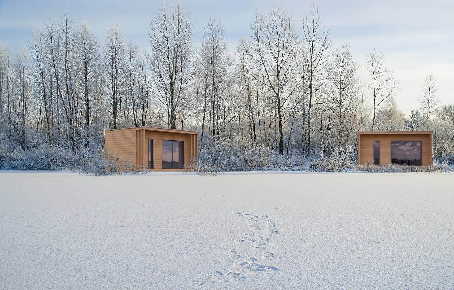 Studio de jardin 20m2 hivers