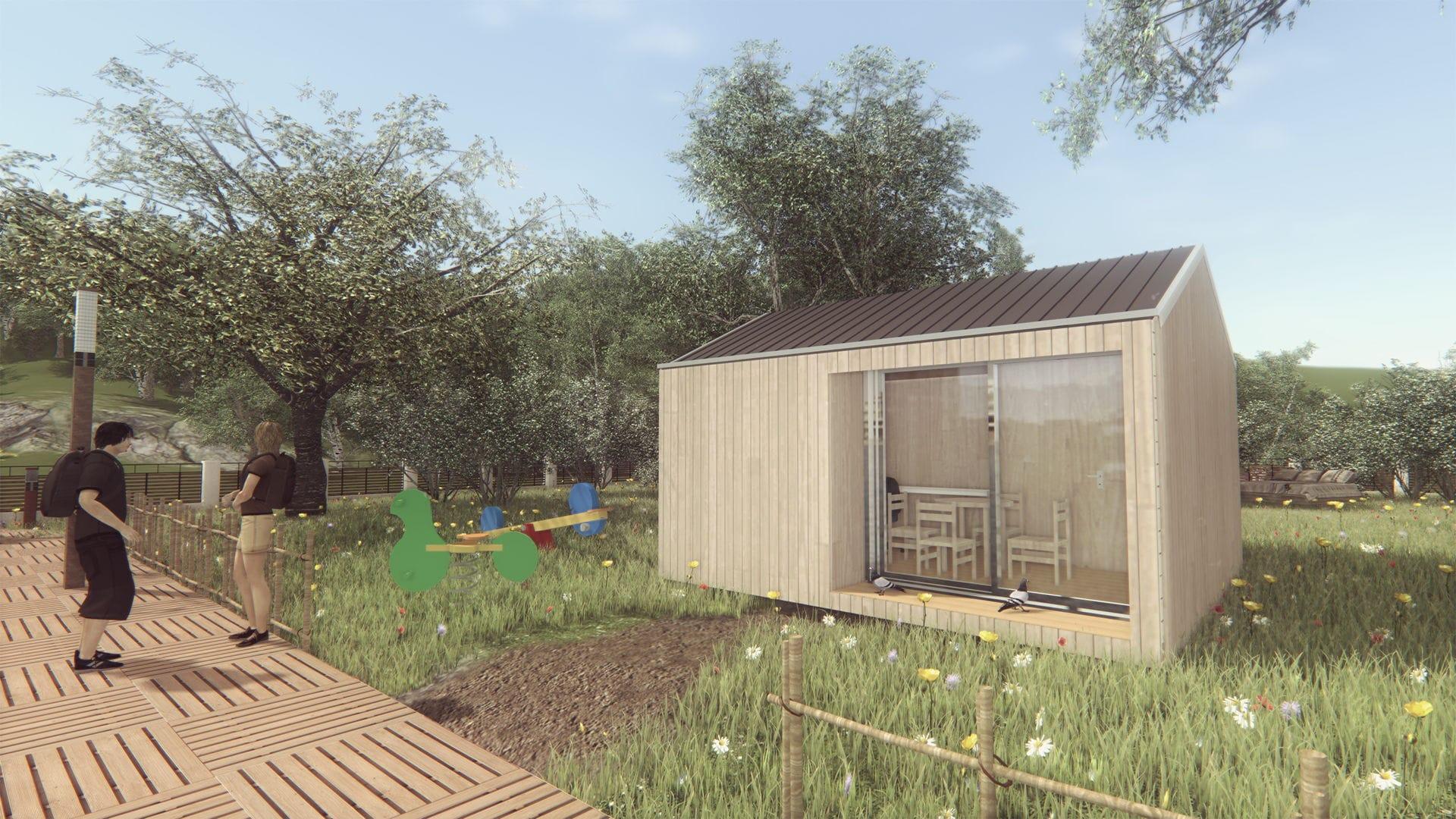 Bureau studio bois m woodyloft