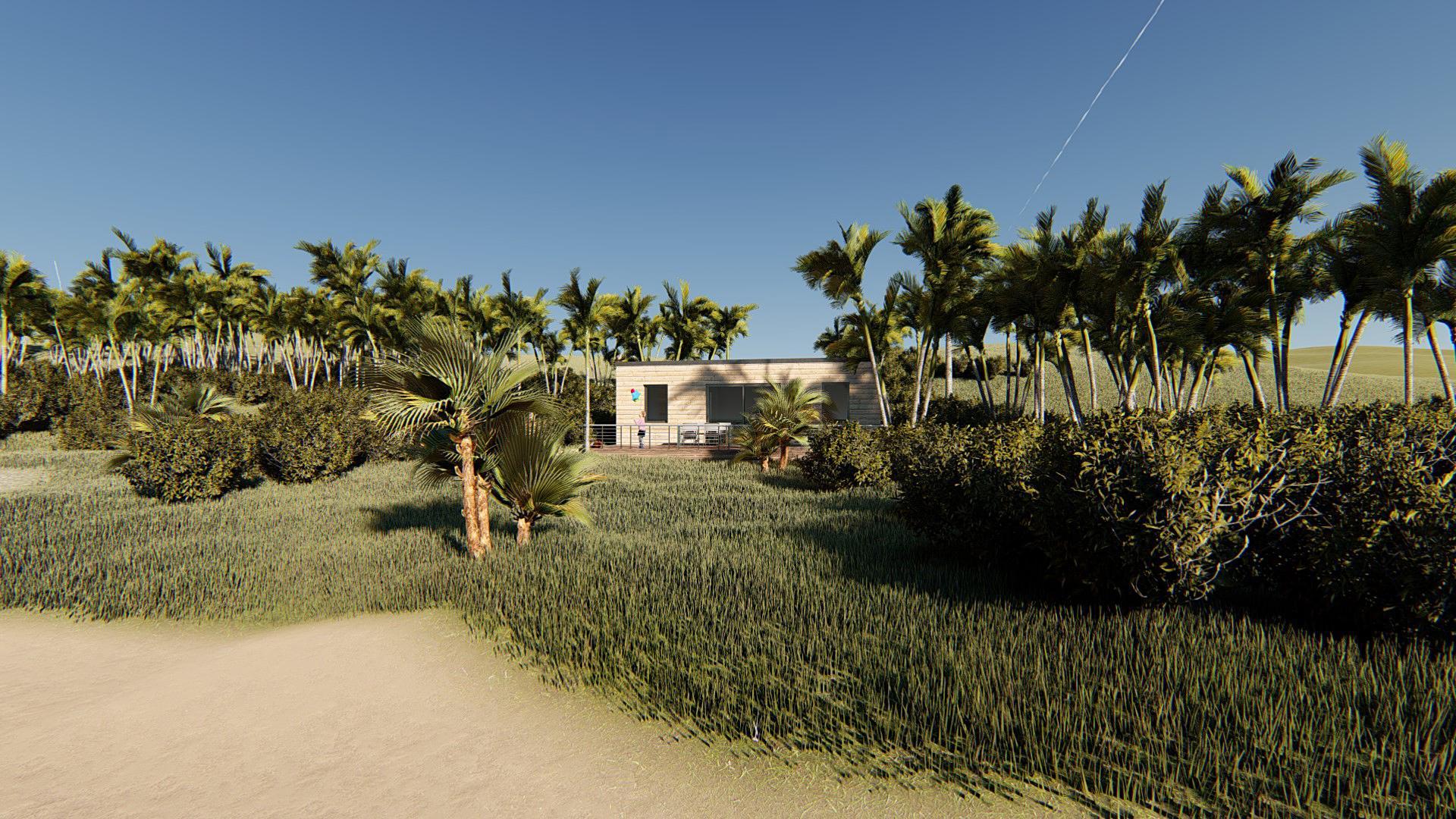 Studio de jardin 45 mobil home camping vue plage