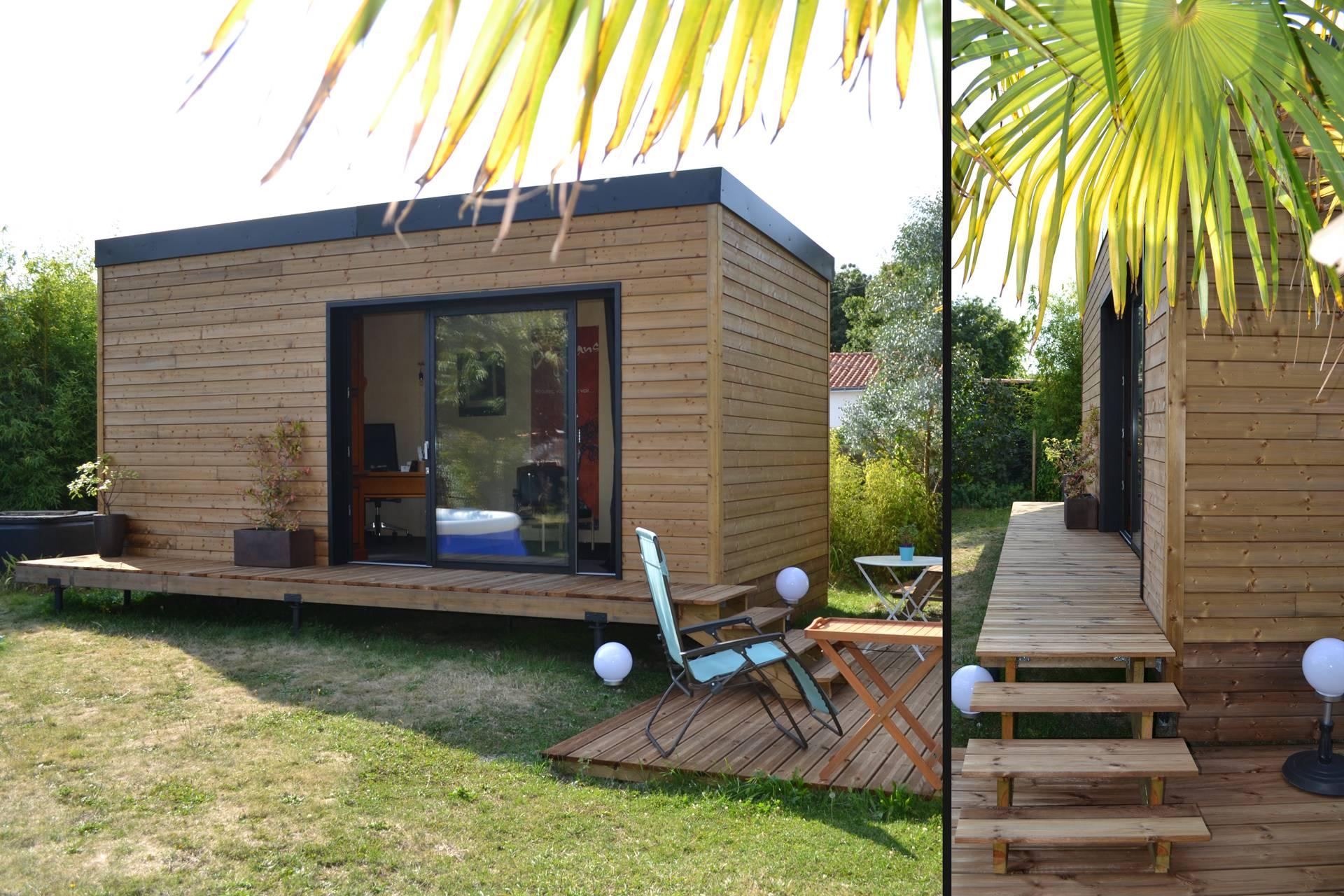 Abri De Jardin Habitable studio de jardin 20m2 : permis de construire ou déclaration