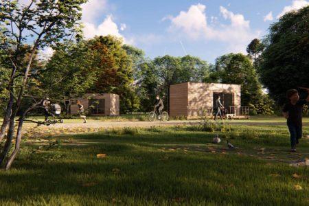 studio de jardin 20m2 ossature bois design