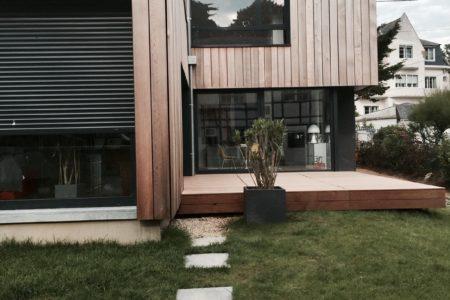 Maison bois écologique Pornichet
