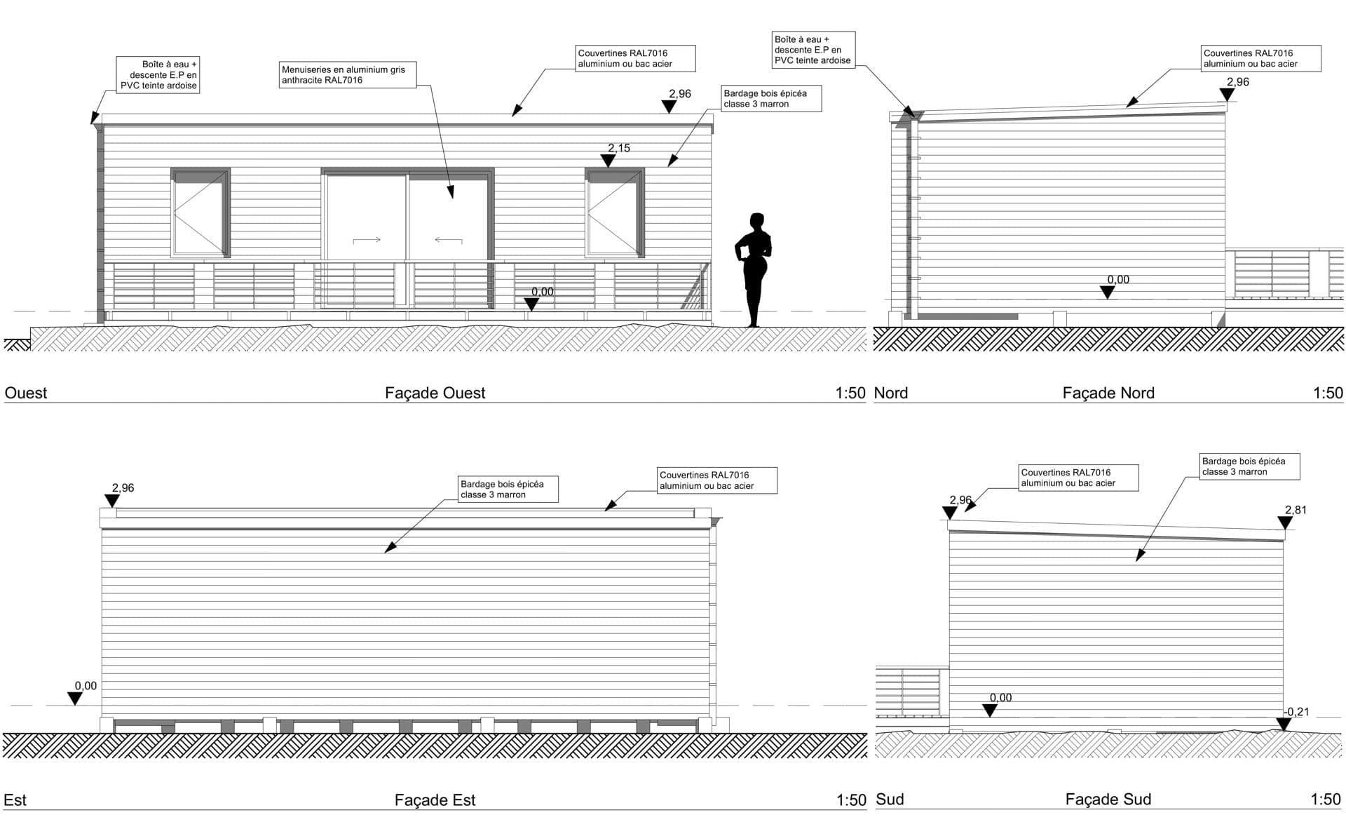 facades studio 45 camping loisirs hotels