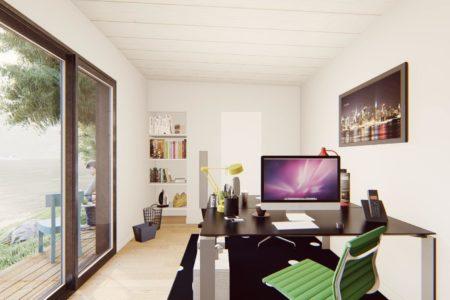bureau de jardin 20 m2 vue interieure 2