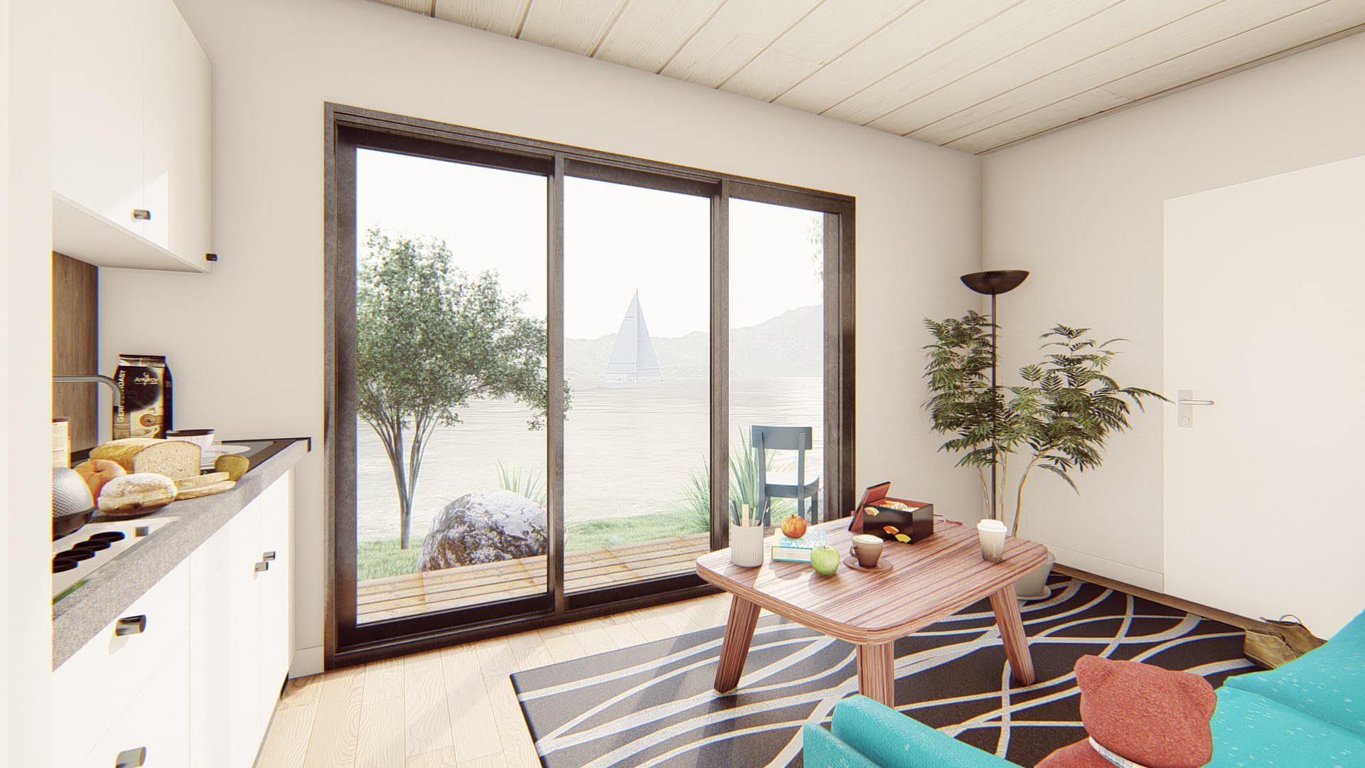 studio de jardin 20 m2 vue interieure 1