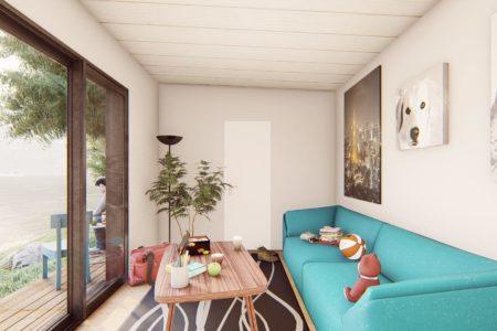 studio de jardin 20 m2 vue interieure 2