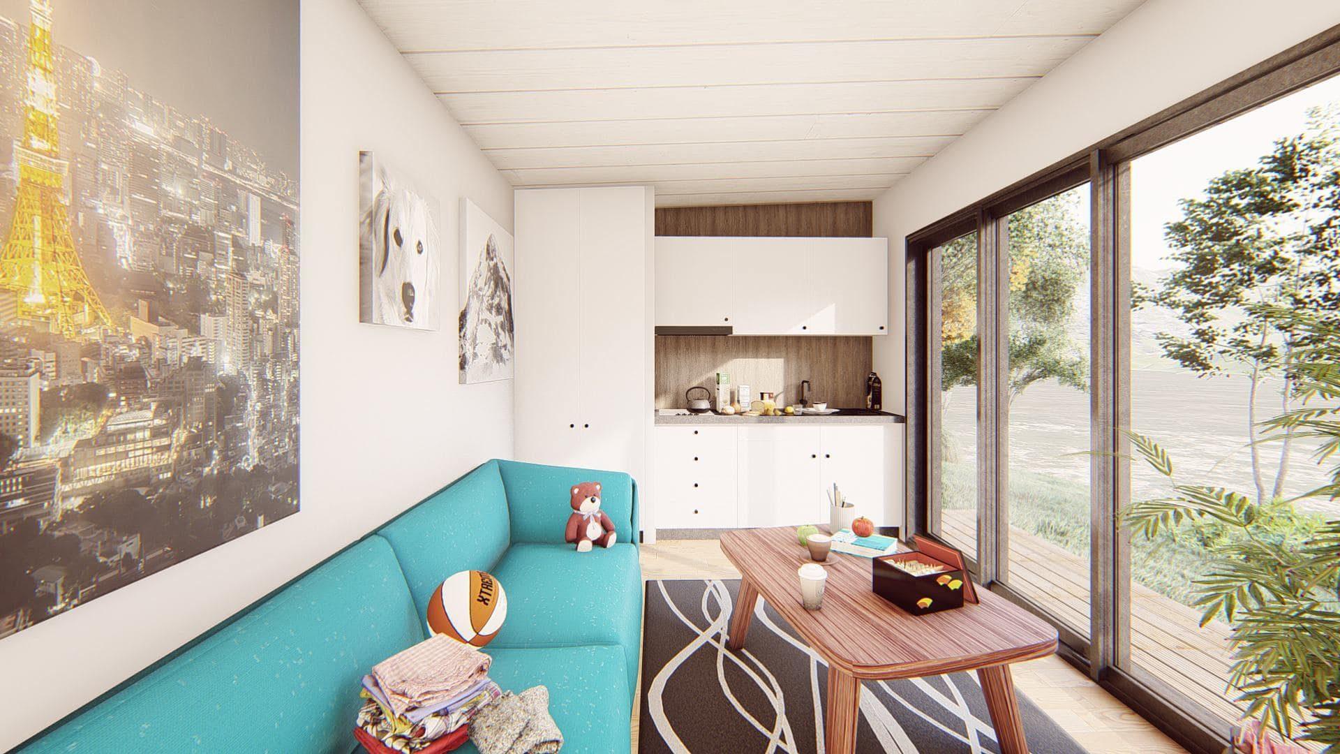 studio de jardin 20 m2 vue interieure 3
