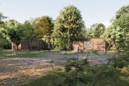 studio de jardin 35 m2 vue face