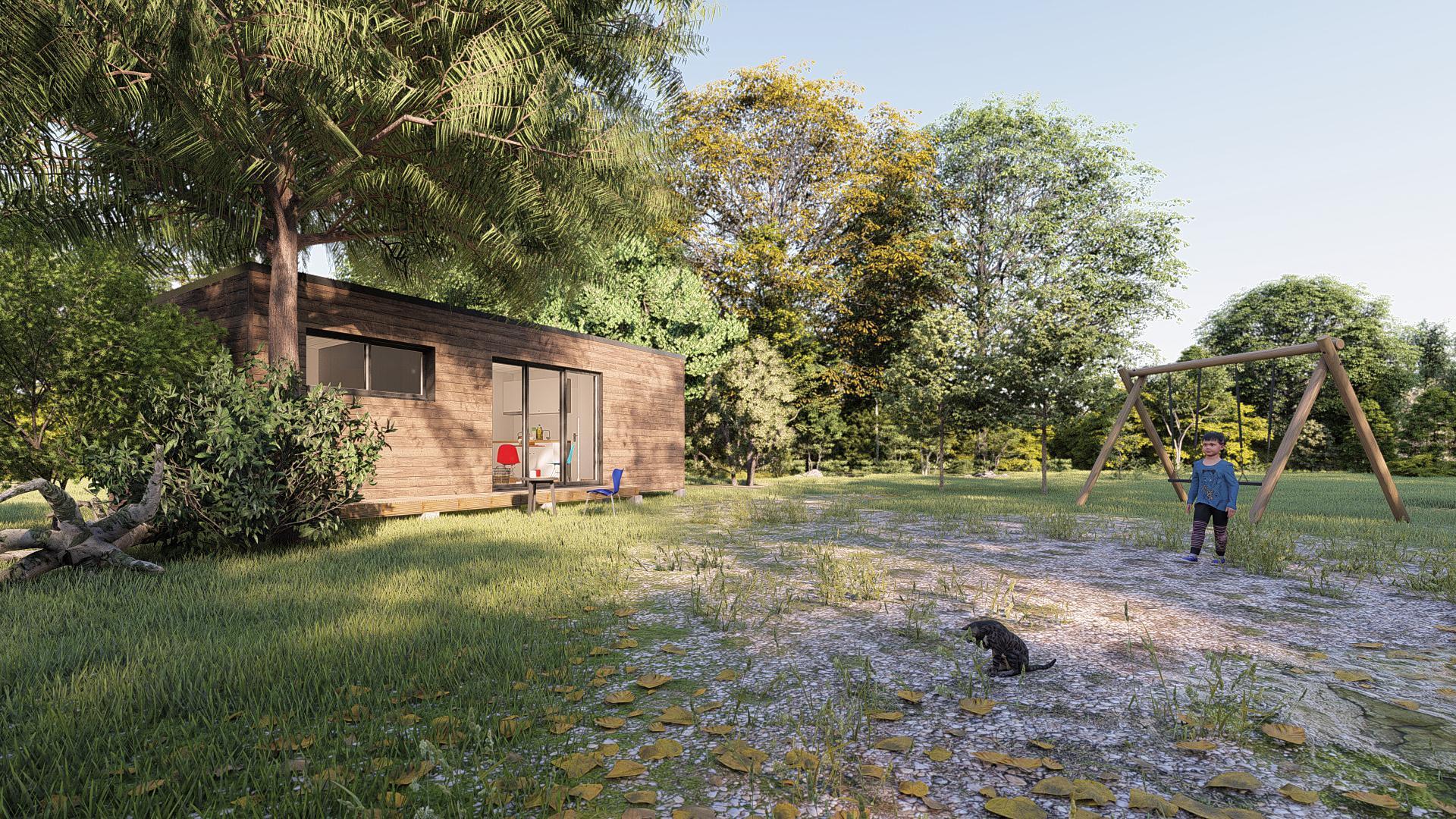 Aménager Un Petit Jardin De 20M2 studio de jardin 35m2 clé en main - woodyloft