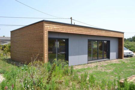 maison en bois 80m2 prefabriquee