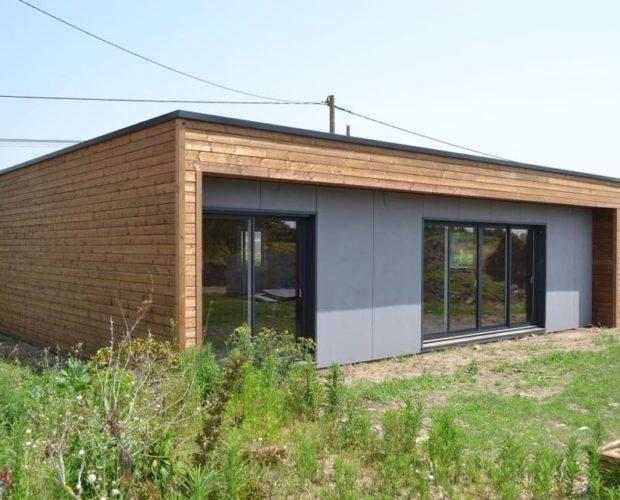 Construction d'une maison à ossature bois proche de Nantes