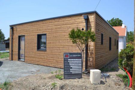 maison en bois prefabriquee 80m2