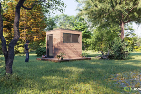studio de jardin 5m2 sans permis de construire