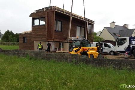 studio de jardin chantier pose en bretagne
