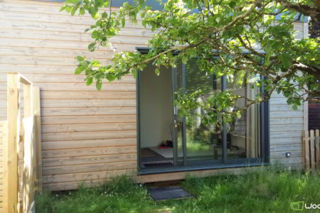 bureau de jardin en bois 20m2 nantes