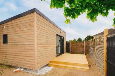 studio de jardin bois 20m2 nantes